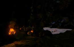 Black Stone Mine in UE4